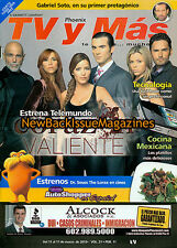 Spanish TV y Mas 3/12,Corazon Valiente,March 2012,NEW