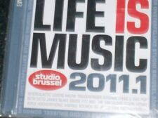 LIFE IS MUSIC 2011.1  - STUDIO BRUSSEL (2 CD) Triggerfinger, Beth Ditto, Das Pop