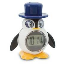 Penguin Talking LCD Alarm Clock For Blind Partially Sighted Ideal Kids Gift