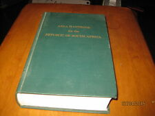 Area Handbook for the Republic of South Africa 1978 2nd Printing