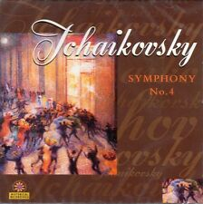 CD TCHAIKOVSKY SYMPHONY NO. 4 OPUS 36 WALTZ SERENADE KOUSSEVITSKY BOSTON