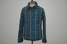 Nigel Cabourn Eddie Bauer Down Filled 100% Cotton Puffy Shirt Jacket S M 48