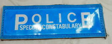 OBSOLETE SPECIAL CONSTABLE POLICE REFLECTIVE JACKET BADGE PATCH