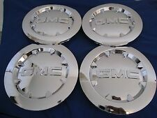 "4pcs. 2007-2012  GMC SIERRA 1500 YUKON XL DENALI Chrome Center Cap 20"" BRAND NEW"
