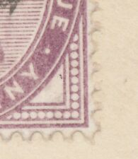 """2455 """"CHELMSFORD"""" Squared Circle Postmark (Cohen Typ 1st I CT) 1 D lilac VARIETY"""