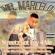 C-Murder, Mystikal, Mr. Marcelo: Streetz Got Luv 4 Me Explicit Lyrics Audio Cass