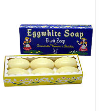 Eiwit Zeep Eggwhite and Chamomile Flower Facial Soap - 6 Bar Gift Set