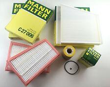 MANN-FILTER KIT FILTRO DE ACEITE POLEN AIRE W211 S211 280 CDI 320