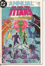 The New Teen Titans Annual #1 by DC Comics
