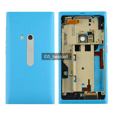 New Blue Full Housing Cover Case For NOKIA N9 N9-00 SIM Tray and USB Door