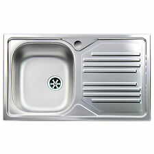 Lavello da cucina acciaio inox Apell Atmosfera vasca singola ...