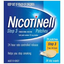 NICOTINELL 7MG / 24 HOUR PATCH STEP 3 PATCH - 7 PATCHES