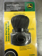 "JOHN DEERE TY26584 Deluxe Wheel Spinner Suicide Knob for 1.25"" Steering Wheels"