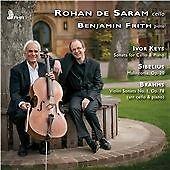BRAHMS, JOHANNES / JEAN SIB...-Sonata for Cello & Piano - Maliconia - RohaCD NEW