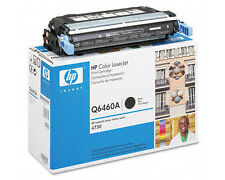 Genuine OEM HP 644A Q6460A Black Original LaserJet Toner Cartridge