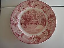 Royal Staffordshire Purple Transferware Santa Fe New Mexico Rebel Monument Plate