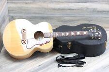 2011 Gibson SJ-200 Studio Excellent Shape in Vintage Natural + OHSC