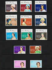 1980 Queen Mother 80th Birthday Collection All Mint Never Hinged