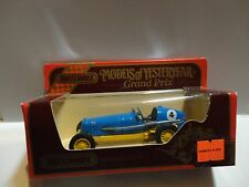 Matchbox Models of Yesteryear #Y-14 Blue 1935 ERA R.1.B