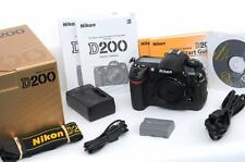 IMMACULATE, Boxed, Lightly Used Nikon D200 Camera Body + Accessories - US Model