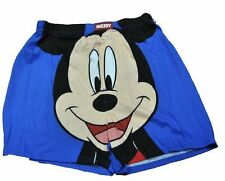 New Mickey Mouse Classic Mens Shorts Boxers Disney Sleepwear Underwear Briefs XL