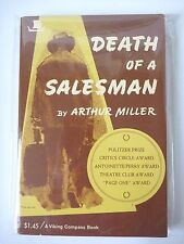 DEATH OF A SALESMAN by ARTHUR MILLER 1975 VINTAGE PAPERBACK VIKING DRAMA PLAY NF
