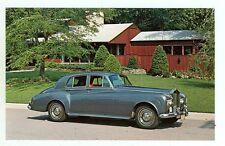 1965 Rolls Royce Silver Shadow III Saloon (NEW post card (autoA#452*2
