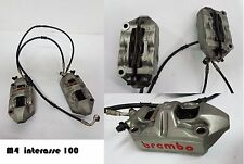 Pinze Brake Calipers Bremszangen BREMBO M4 INTERASSE 100mm 1098 848 1198 DIAVEL