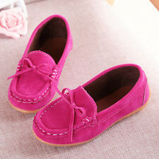 Boy Girls Loafers Baby Kids Ankle Boots Peas Toddler Shoes Flat Slip On Velvet