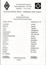 21.07.1984 SpVgg Fürth - Hamburger SV