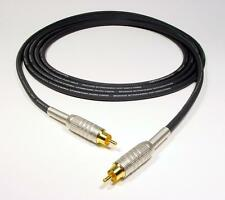 NEW PRO GEPCO X-BAND with CANARE GOLD PLATED RCA