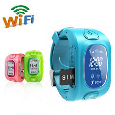 Y3 Blue Smart Wrist Watch Phone GPS Tracking Anti-lost Locater Tracker For Kid