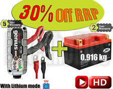 Lithium Deal - Battery + charger - KTM RC8 1190  - 2009