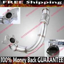"T3/T4-4 BOLT T3-4 bolts SS 3"" Downpipe for 99-05 VW Jetta 1.8T DOHC Turbocharged"