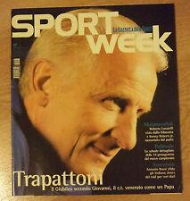 SPORT WEEK N.38 DEL 2000 - TRAPATTONI (OK12)