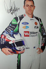 David Wall SIGNED 12x8  Dick Johnson Racing Ford Portrait 2014