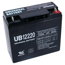 UPG 12V 22Ah Sealed Lead Acid Battery for Stanley 450 Amp Jump Starter