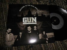 "GUN Welcome to the real world/Standing in your shadow 7"" 1992 A&M Records"