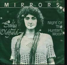 "7"" Sally Oldfield Mirrors / Night Of The Hunter`s Moon 70`s Bronze Records"