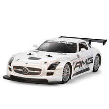 Tamiya 1:10 Mercedes Benz SLS GT3 AMG 257mm Body Parts Set RC Car On Road #51534