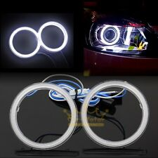 2x 110mm Hight Power COB Angel Eyes Halo Ring LED Light Car Motorcycle Universal