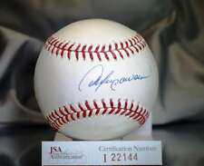 ANDRE DAWSON JSA CERTED NATIONAL LEAGUE AUTOGRAPH BASEBALL AUTHENTIC SIGNeD