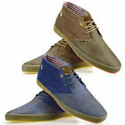 Mens Casual Walking Retro Chukka Lace Up Desert Ankle Boots Trainers Shoes Size