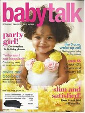 Babytalk June July 2008 1st Birthday Party/40% Off Next Grocery Bill/Baby Sleep