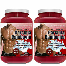 2 x Best Garcinia Cambogia Garcinia Diet Weight Loss HCA Pure Diet Extract 60