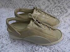 "Varomed Weite H "" Roda Swiss "" lace up NAPPA leather  flats size 5,5"