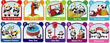 Re-ment Miniature Animal School Time Kindergarten Panda Full Set of 10 MIP NEW