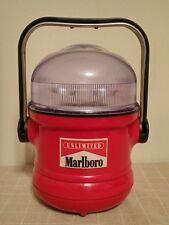 Marlboro Unlimited Lantern Flashlight Lamp Camping Battery Operated Vintage