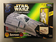1997 KENNER STAR WARS EXPANDED UNIVERSE AIRSPEEDER & PILOT ACTION FIGURE SET