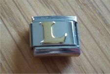 Italian Charms Charm - Gold Letters  Letter L
